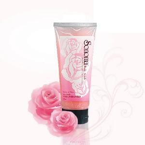 玫瑰甜心身體去角質霜